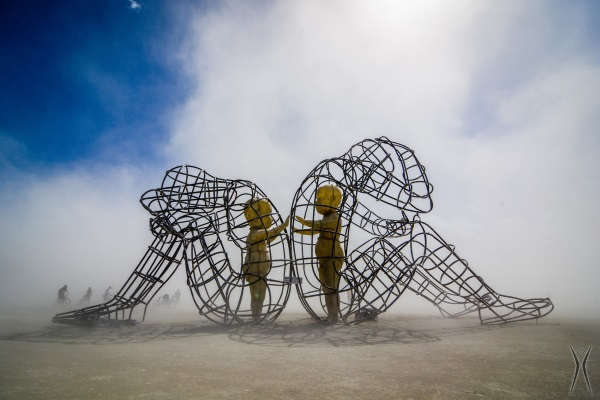 burning man symbol